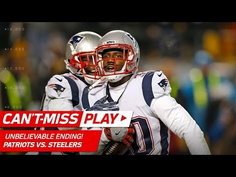 UNBELIEVABLE ENDING to Patriots vs. Steelers Game! | Can't-Miss Play | NFL Wk 15 Highlights
