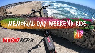 Memorial Day Weekend in SF PT2 Zero 10x Electric Scooter Ride | GoPro Hero 7 Raw FPV Video Footage