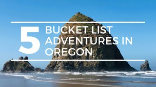 5 BUCKET LIST ADVENTURES In OREGON | Oregon RV Travel Crater Lake National Park To The Oregon Coast