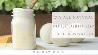 Best Homemade Powder Laundry Soap | Cost Effective And Works Great