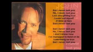John Berry - I Never Lost You ( + lyrics 1994)