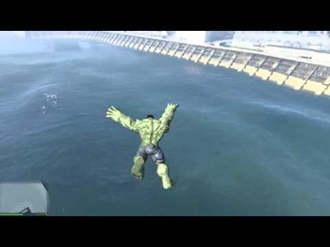 GTA 5 Mod - Hulk