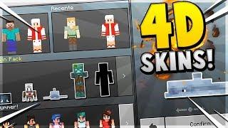 Minecraft Pocket Ediiton Skin Pack 免费在线视频最佳电影电视节目 - Skins para minecraft pe en 4d