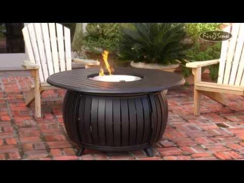 Fire Sense Grand Cooper Propane Fire Pit