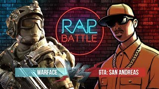 Рэп Баттл - Warface vs. Grand Theft Auto: San Andreas