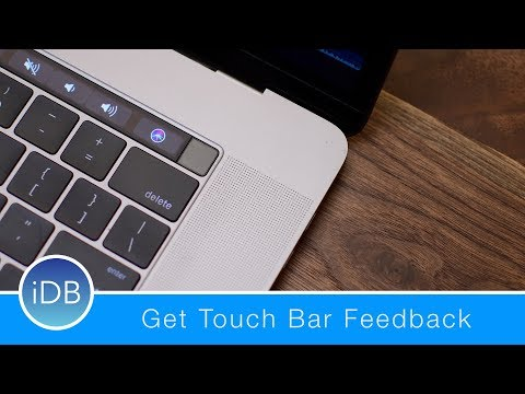 This App Brings Haptic Feedback to the Touch Bar – Review