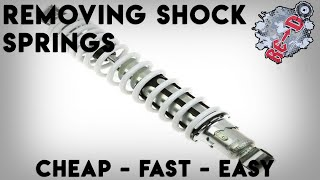 How To Remove Banshee Shock Springs (UNDER $10!)