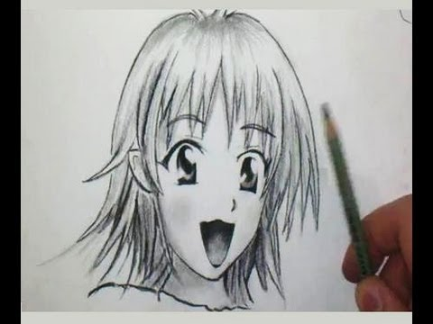Comment Dessiner Un Visage Manga De Fille Tutoriel Tutotube Fr