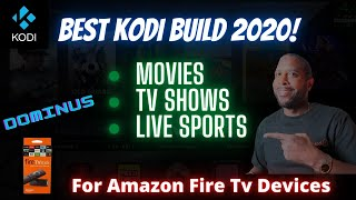 Install The Dominus Kodi Build (Amazon Fire TV Devices)