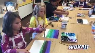 Alcona Elementary Receives Major Grant To Help Bring Art Back To Classrooms After A Decade
