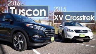Tucson | XV Crosstrek | Model Comparison | 2015 & 2016 | Driving Review