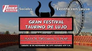 "#Video Invitación a ""Gran Festival Taurino de lujo"""