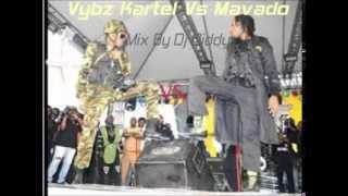 Vybz Kartel Vs Mavado Full War Mix By Dj Diddy