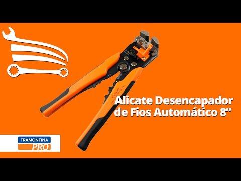 Alicate Desencapador de Fios Automático 8 Pol. - Video