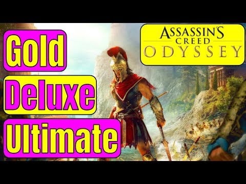 WHICH SHOULD YOU BUY? Assassin's Creed Odyssey ULTIMATE EDITION VS AC ODYSSEY GOLD EDITION / DELUXE