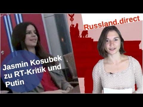 Jasmin Kosubek zu RT-Kritik und Putin [Video]