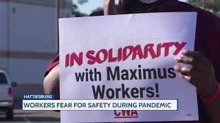 Workers fear for safety during pandemic