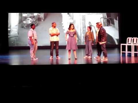 Michaela Moore as Anita in West Side Story