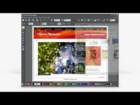 Magix Web Designer - Einführung