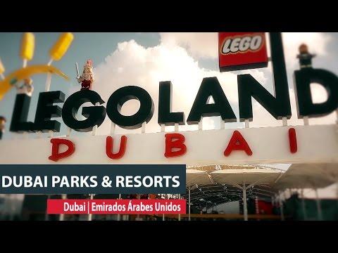 Conheça o Dubai Parks & Resorts