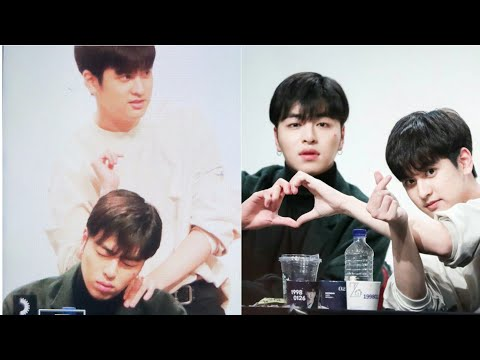 FUNNY MOMENT CHANWOO MASSAGING JUNE. YEAY, JUNCHAN AREN'T AWKWARD ANYMORE