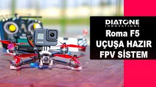 Fpv Drone Toplamaya Son , Uçuşa Hazır FPV Drone | Roma F5 Türkçe Kutu Açılımı ve İncelemesi