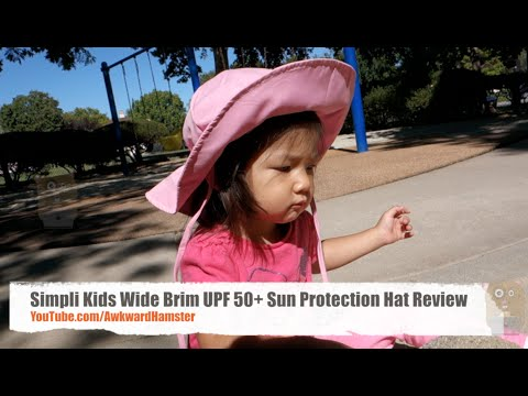 Simpli Kids Wide Brim UPF 50+ Sun Protection Hat Review