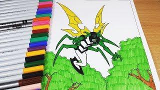 Coloring Pages Ben 10 Xlr8 Ben 10 Omniverse Ben 10 Ultimate Alien