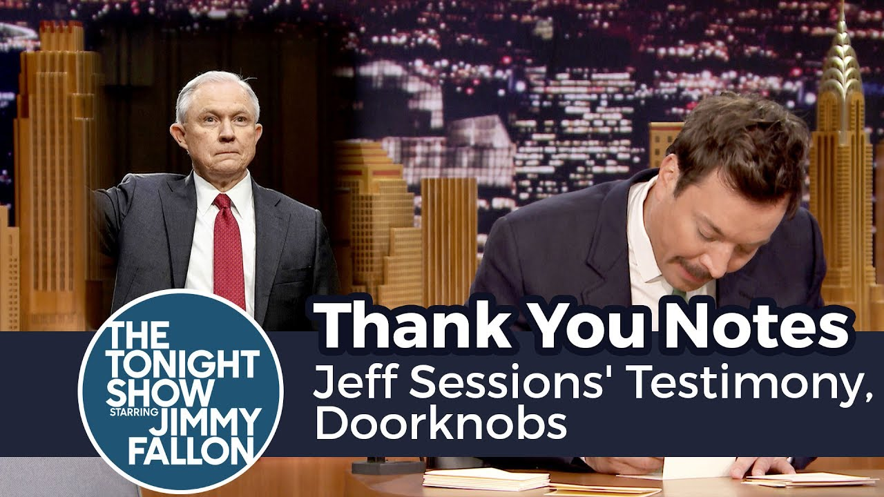 Thank You Notes: Jeff Sessions' Testimony, Doorknobs thumbnail