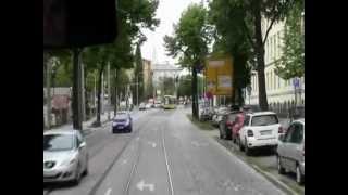 preview picture of video 'Dresden Straßenbahn selberfahren von Trachenberge nach Hellerau'