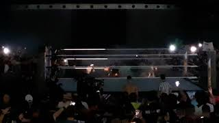 'The Fiend' First Ever Entrance Live Crowd Reaction