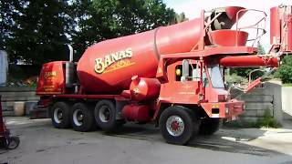 Oshkosh Concrete Mixer Walk Around and Basic Operation (How a Cement Truck Works)