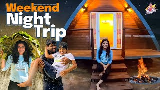 Weekend Night Trip || Contanier house tour| |night stay||