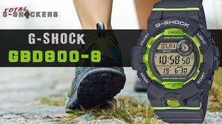 Casio G-SHOCK GBD800-8 | Grau & Grün G-Schock G-SQUAD Step Tracker GBD-800 Top 10 Dinge