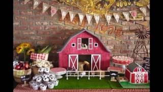 Farm Party Decoration Ideas