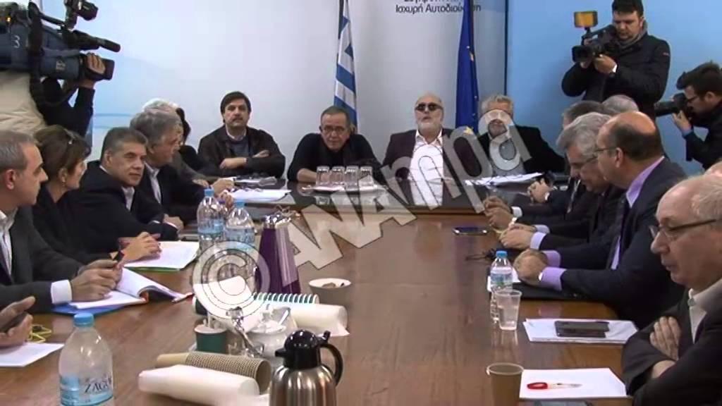 Eκτακτη συνάντηση της ηγεσίας ΥΠΕΣΔΑ, ΚΕΔΕ, ΕΝΠΕ και Εκκλησίας για το προσφυγικό