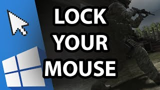 How to lock mouse on your main screen