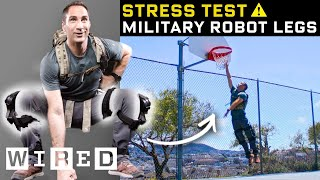 Stress Testing Real-Life Robot Legs | WIRED