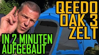 Qeedo Quick Oak 3 Zelt - Schneller Aufbau viel Platz - Airsoftevent