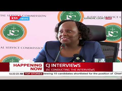 CJ Interviews: Professor Mbote on two-thirds Gender rule, GBV, the backlog of cases+MORE