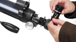 Celestron AstroMaster 90AZ - 90 mm Refractor Telescope - 21063