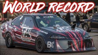 Civic AWD Turbo GSR B series Fast Drag Racing Sedan EG CRV 4wd