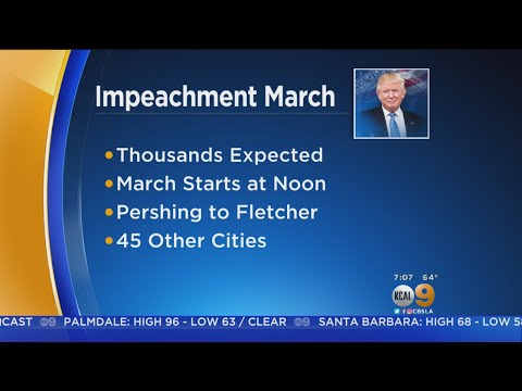 Tens Of Thousands To Take Part In March To Impeach President Trump