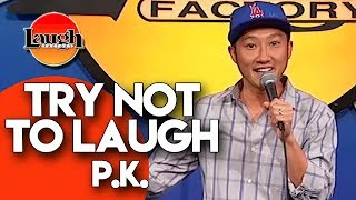 Try Not To Laugh | P.K. | Laugh Factory Stand Up Comedy - Video Youtube