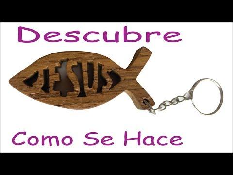 Como hacer llavero jesus en madera, personalizado, decoracion, casero handcraft us hispanic arte