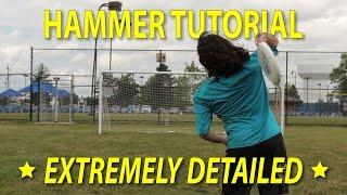 How to Throw a Hammer - Ultimate Frisbee Tutorial