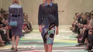 The Full Burberry Prorsum Womenswear SS15 Show