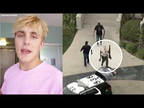 FBI, sheriff's SWAT team seizes apparent rifles at Jake Paul's Calabasas home I ABC7