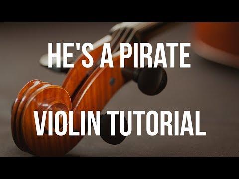 pirates of the caribbean-He's a pirate Violin Musicsheet