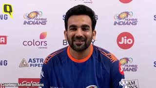 Zaheer Khan Speaks Before Mumbai Indians IPL 2020 Game vs RCB | The Quint  IMAGES, GIF, ANIMATED GIF, WALLPAPER, STICKER FOR WHATSAPP & FACEBOOK
